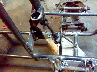 Рулевой механизм на квадроцикл